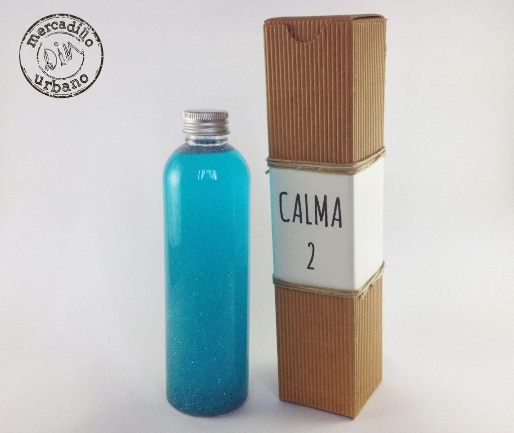 Botella de la calma, estilo Montessori Mercadillo Urbano DIM Madrid, España