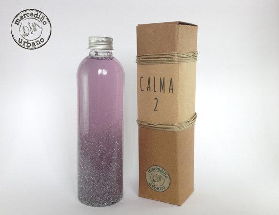 Botella de la calma estilo Montessori, de Mercadillo Urbano DIM, Madrid España
