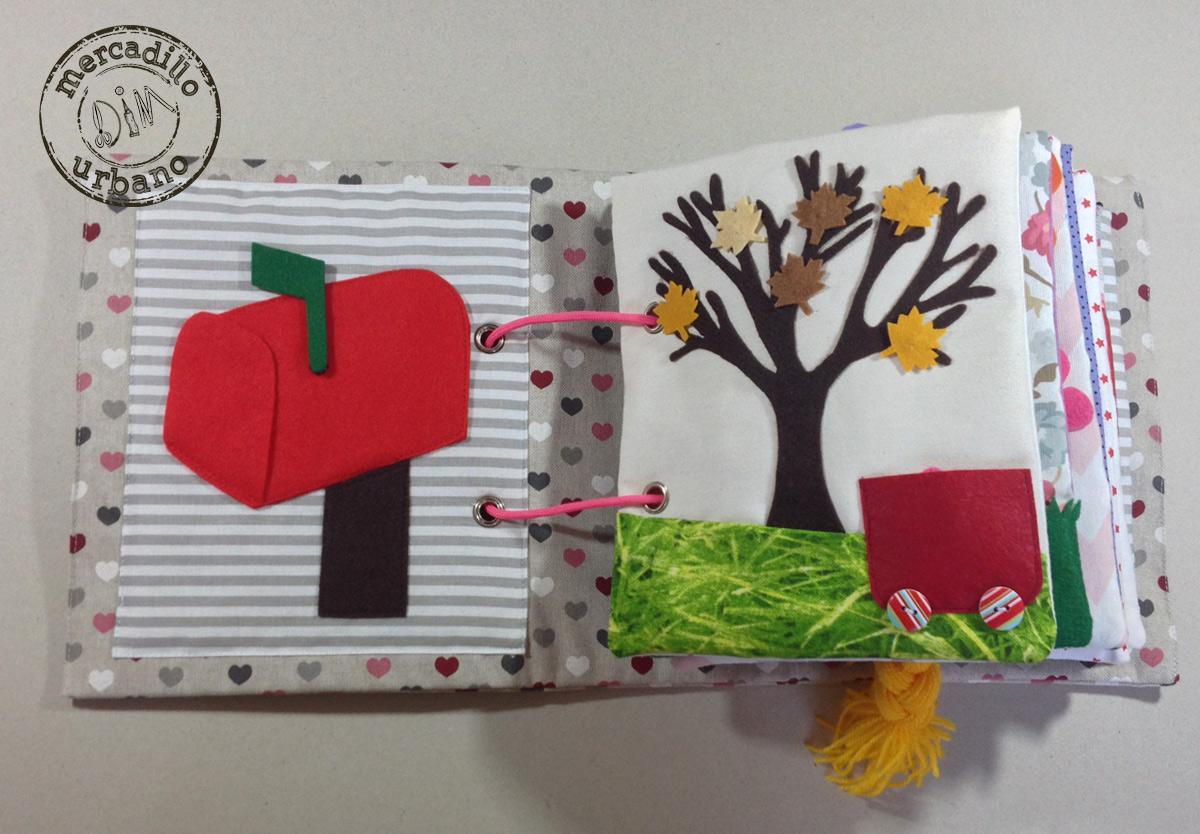 QUIETBOOK libro de actividades para niños y niñas estilo Montessori pag1-2