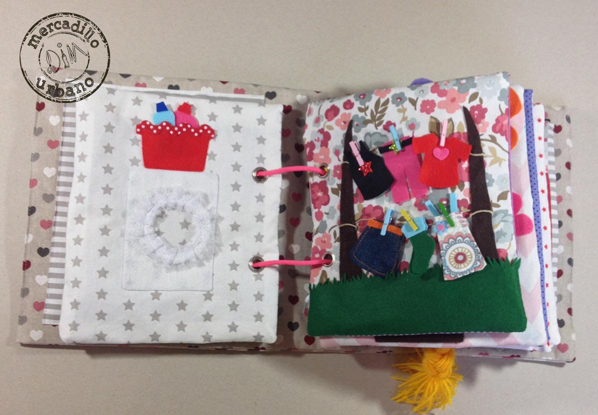 QUIETBOOK libro de actividades para niños y niñas estilo Montessori pag 3-4