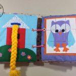 QUIETBOOK libro de actividades para niños y niñas estilo Montessori