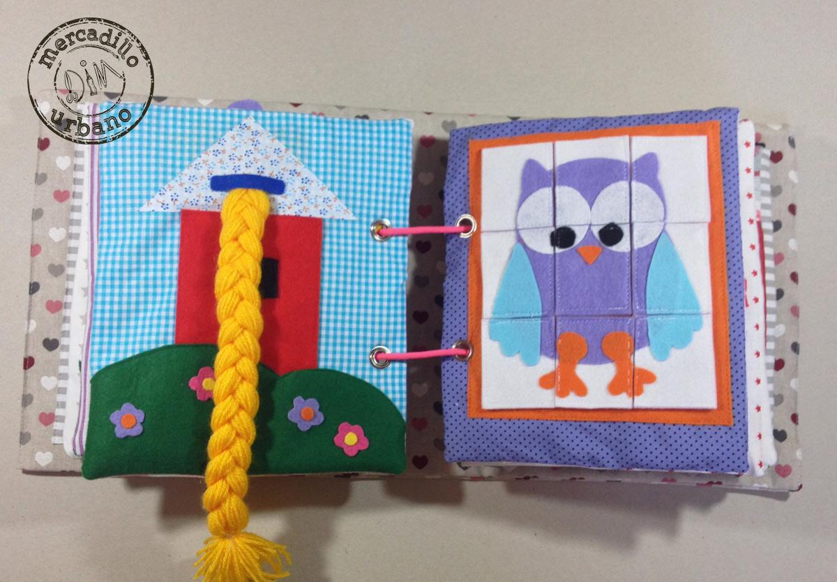 QUIETBOOK libro de actividades para niños y niñas estilo Montessori pag 7-8