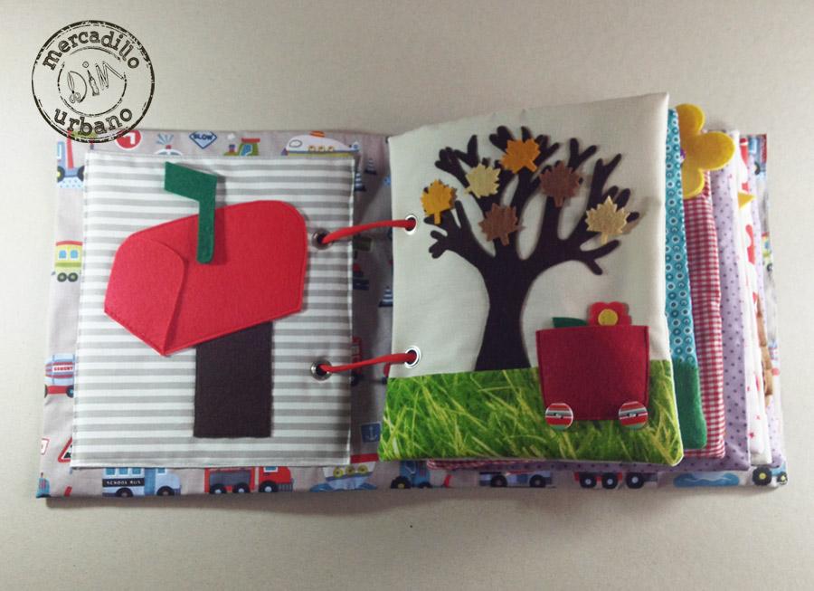 QUIET BOOK libro de actividades para niños estilo Montessori pag 1-2